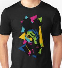 Basquiat color Unisex T-Shirt