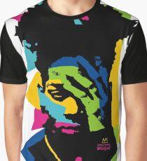 Basquiat color Graphic T-Shirt
