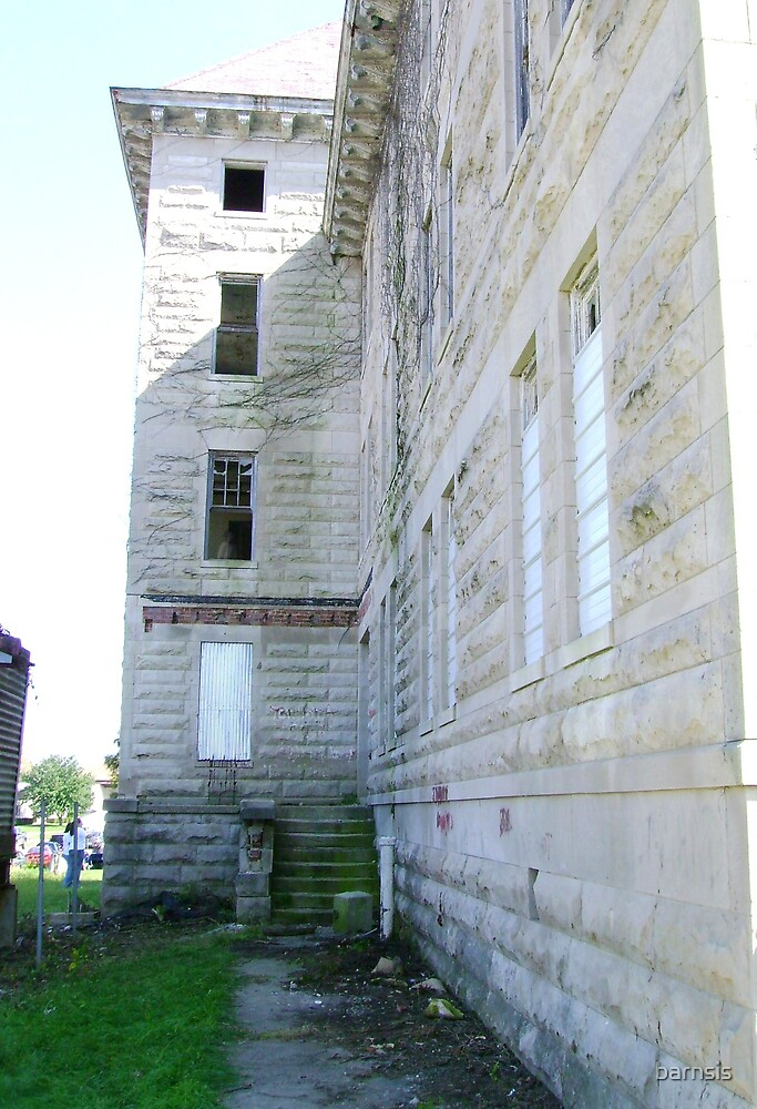 View of the Bowen Building from left rear. SERIES - 2 by barnsis