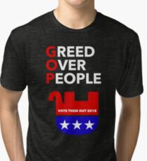 GOP - VOTE THEM OUT Tri-blend T-Shirt