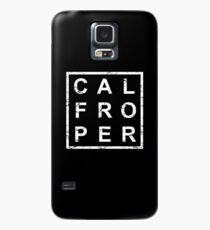 Stylish Calf Roping Hülle & Klebefolie für Samsung Galaxy