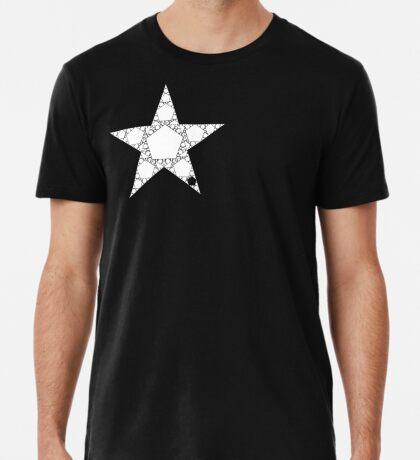 Fractal Pentagram - The Chaos Game Premium T-Shirt