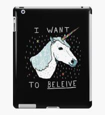 Unicorn Shirt iPad Case/Skin