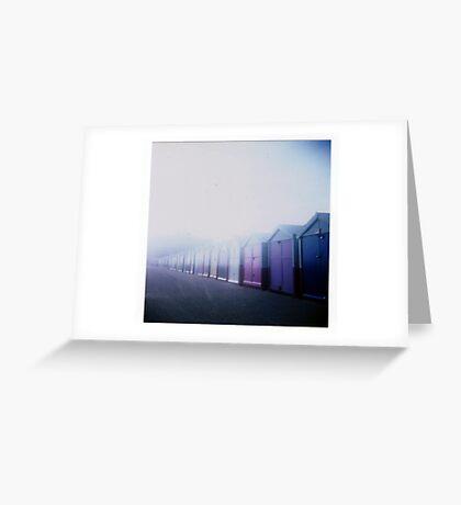 Brighton Blues Greeting Card