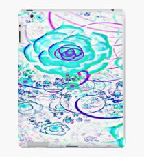 White Essence Of Flower iPad Case/Skin