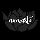 Namaste and Lotus: Soul to Soul #namaste #lotus #art #decor #design by Jacqueline Cooper