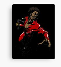 The Afroman Fighter Canvas Print