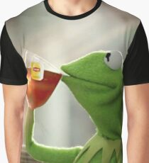 Kermit Sipping Tea Graphic T-Shirt