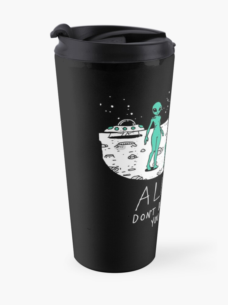 Alternate view of Aliens Travel Mug