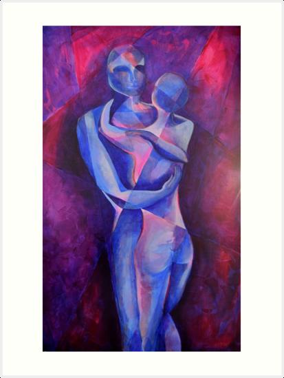 Lovers II by Anna Chlewicki Lightfoot
