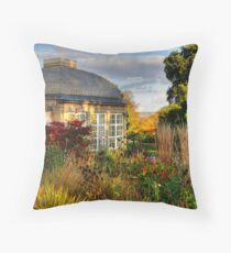 Botanical Gardens Throw Pillow