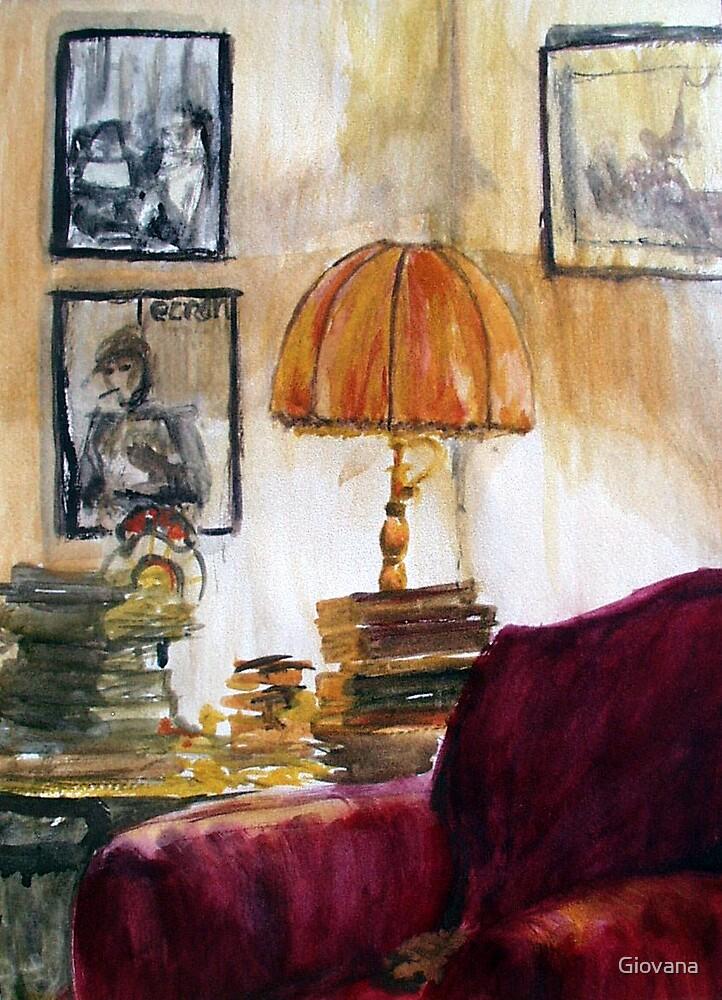 Living Room Corner by Giovana