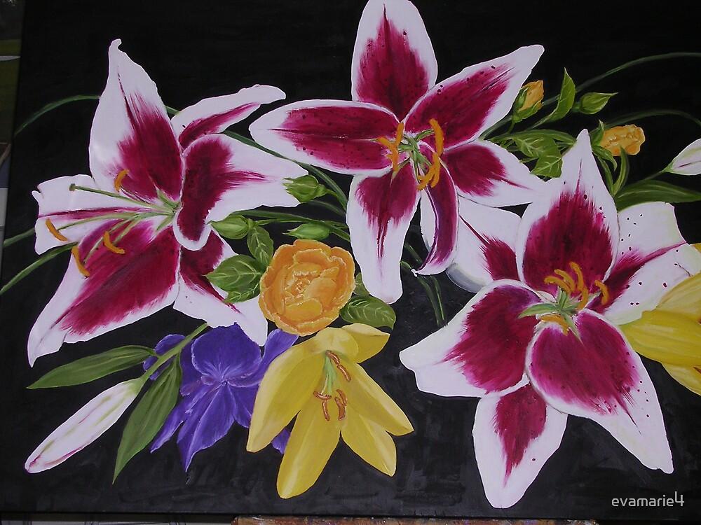 flowers by evamarie4