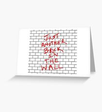 Pink Floyd - The Wall Greeting Card