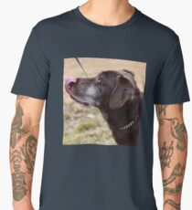 Chocolate Lab Men's Premium T-Shirt