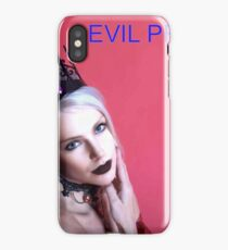 EVIL PRINCESS https://twinprincess.wixsite.com/2-princesses iPhone Case