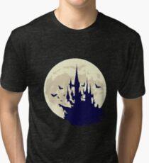 Pixel Castle Tri-blend T-Shirt