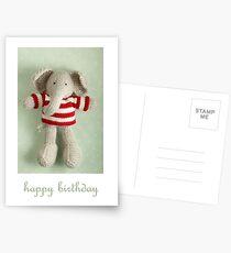 Ed birthday card Postcards