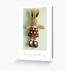 georgette birthday Greeting Card