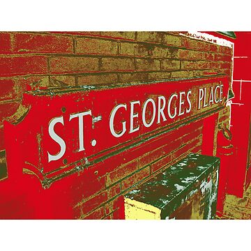 St George's Place Red by shrewdmovenet