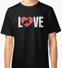 LOVE Pet Ferret Classic T-Shirt
