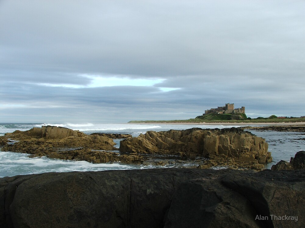 Bamburgh Castle by Alan Thackray