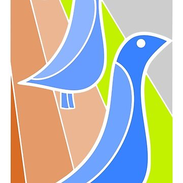 1970s birds by SeeScotty