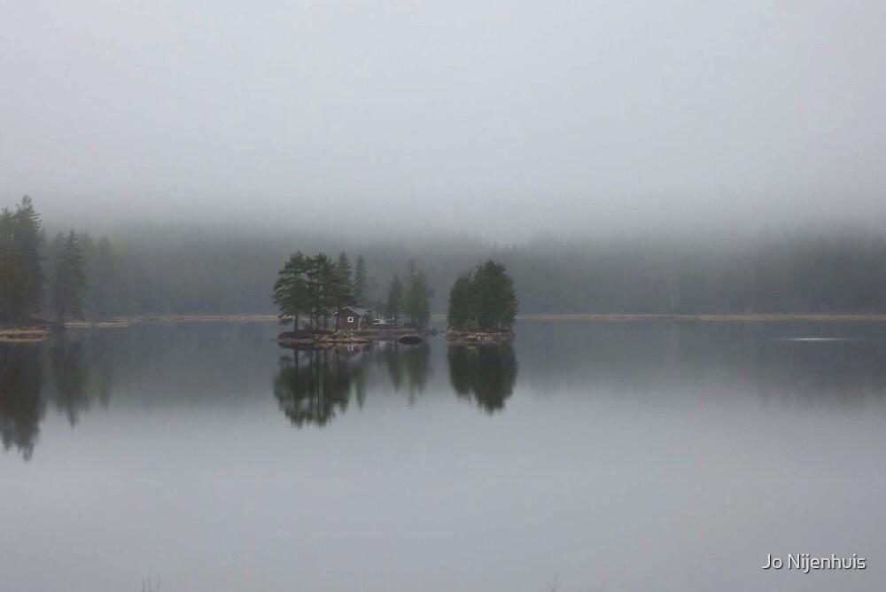 Isolated In Fog by Jo Nijenhuis