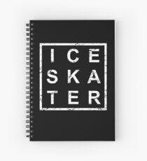 Stylish Ice Skating Spiralblock