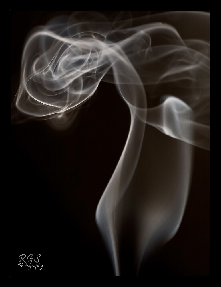 Dancing with Smoke by RGSPhotography