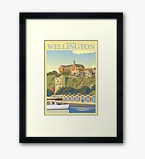 Oriental Bay - Wellington Framed Print