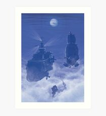 Dawn of Adventure : Rescuing Fina  Art Print