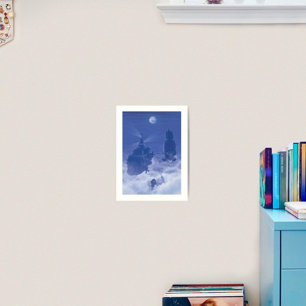 Dawn of Adventure : Rescuing Fina  Art Print