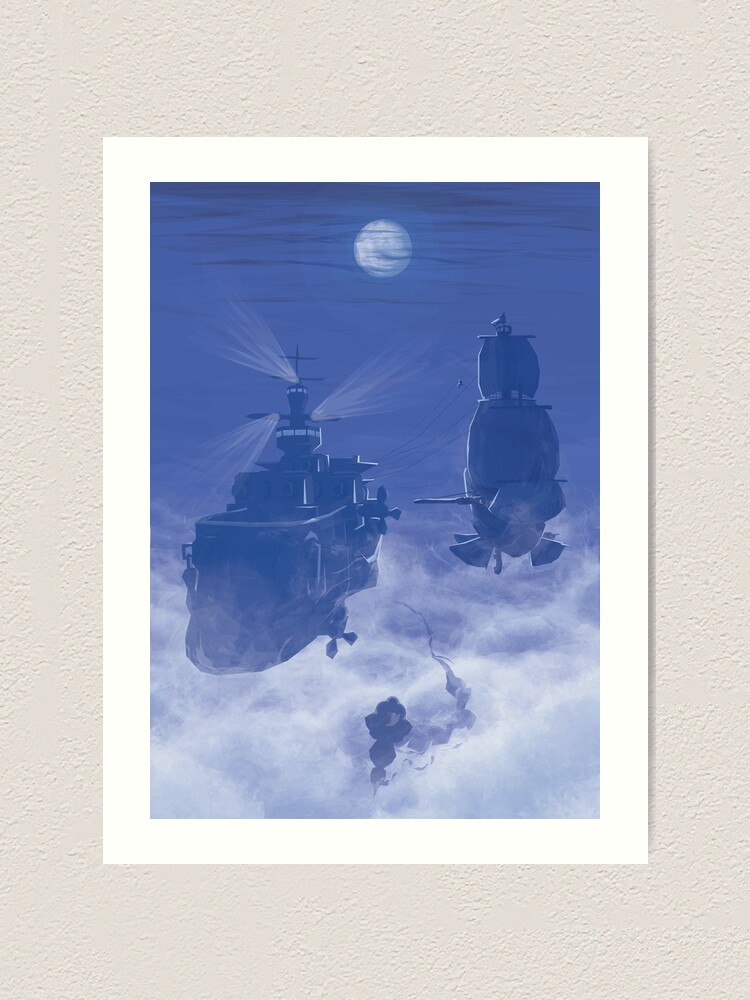 Alternate view of Dawn of Adventure : Rescuing Fina  Art Print
