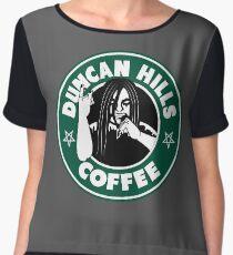 Duncan Hills Coffee Women's Chiffon Top