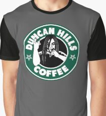 Duncan Hills Coffee Graphic T-Shirt