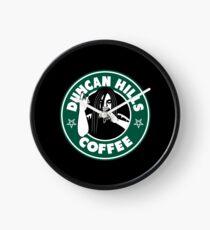 Duncan Hills Coffee Clock