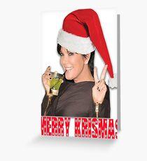MERRY KRISMAS! Greeting Card