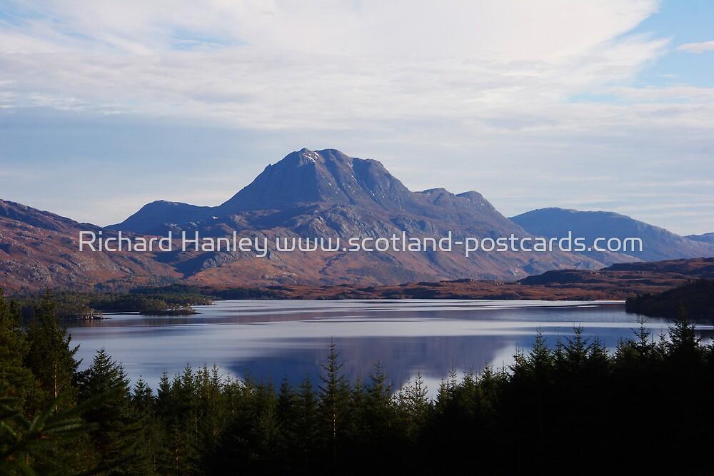 The Slioch by Richard Hanley www.scotland-postcards.com