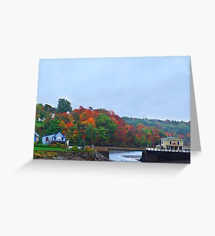 Bear River stream Greeting Card