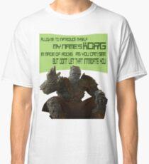 KORG Allow Me To Introduce Myself Classic T-Shirt