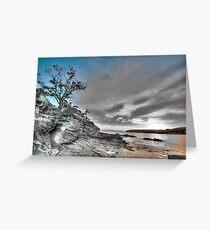 Shadows - Balmoral Beach - The HDR Series Greeting Card