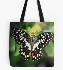 Mr. Lime Butterfly Tote Bag