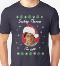 Dashing Theroux the snow - Therouxgear T-Shirt