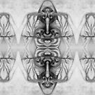 Mirrored drawing 2. by Andrew Nawroski