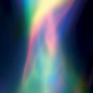 Rainbow Vortex of Light Abstract Art by CreativeBytes