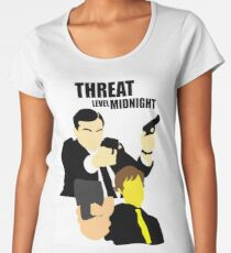 The Office - Threat Level Midnight Women's Premium T-Shirt