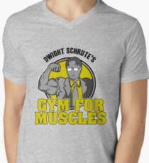 Dwight Schrute's Gym for Muscles Men's V-Neck T-Shirt