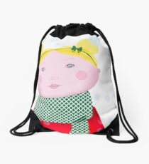 Let it snow Drawstring Bag