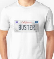 License Plate - BUSTER Unisex T-Shirt